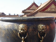 Copper pots in the Forbidden city