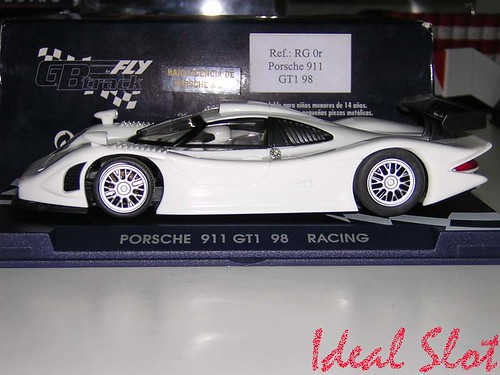 porsche 911 gt1 evo 98 racing white ideal slot. Black Bedroom Furniture Sets. Home Design Ideas