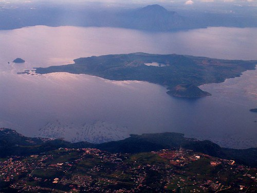 Tagaytay, Taal Lake and Volcano Island (by Storm Crypt)