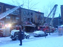 Incendie à la Maison du Roti