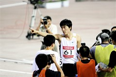 Match Point (a paulchu shot) Tags: world china sports shanghai 110 champion olympic hurdles liuxiang