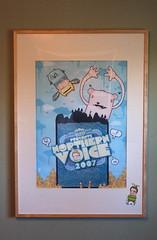 Northern Voice Poster, Framed at Flickr.com