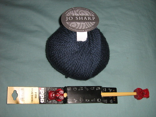 new knitting goodies
