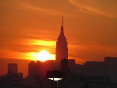 Sunset (twistedreasoning) Tags: nyc shop pics stop
