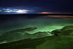 When Night Becomes Day (Xenedis) Tags: cronulla sunrise water ocean rocks rockpool beach seascape newsouthwales nsw australia