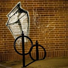 Working With Shadows (mightyquinninwky) Tags: streetart brick art wall geotagged mural grafitti 5 tag tagged bikepole milkcarton chalked supershot horsetie aplusphoto platinumheartaward geo:lat=380362 geo:lon=8449306 jasonpresser bestofformyspacestation