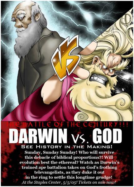 Darwin VS Dios | 2/2 | DVDrip | Mega