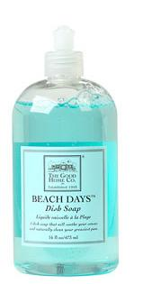 good home beach days dish soap
