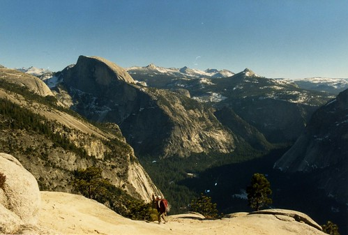 Half Dome and the Clark Range