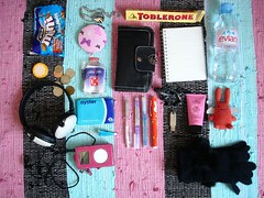 what's in your bag II (super charz) Tags: bag junk whatsinyourb