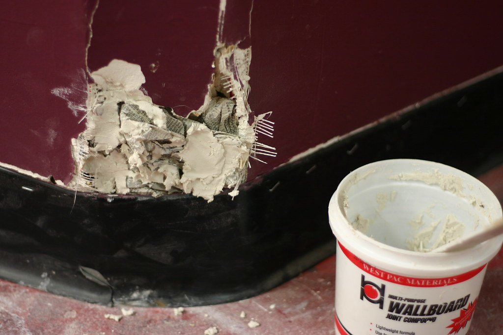 I just cannot patch sheetrock.