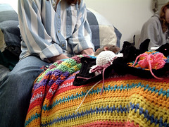 Bed Day (raynie_dai) Tags: bed rat crochet 7 days day4 7days