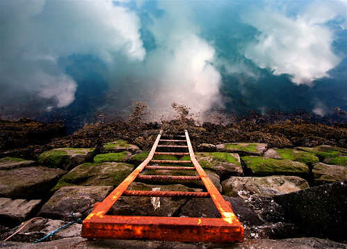 Stairway down to heaven