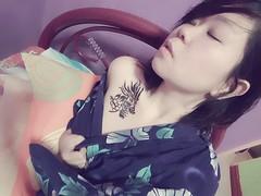 #tattoo #lizard #yakuza #kimono #japanese (akemimi77) Tags: japanese lizard yakuza kimono tattoo