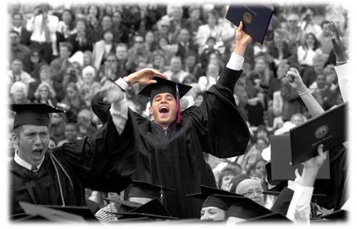 Graduation elation
