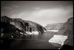 Hoover Dam B&W (Ledio (mostly away)) Tags: d50 landscape lasvegas nikond50 hooverdam peisazh piesazh