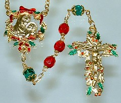 Holly rosary