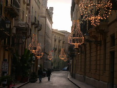 christmas lamps in trapani,sicilia (elmina) Tags: sicilia trapani christmaslamps
