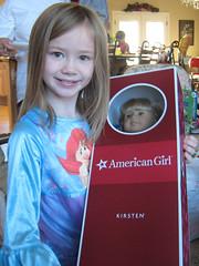 Megumi Got a Kirsten American Girl Doll!!