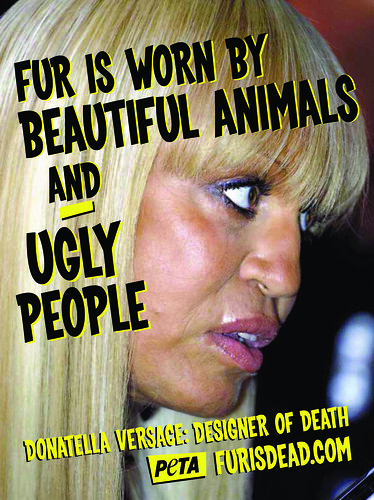 PETA (Donatella Versace)