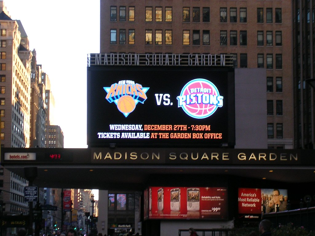 MSG (Rohit_K) Tags: Manhattan Madisonsquaregarden Pistons Knicks Nynyc