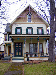 old house 6 (Channel Z) Tags: house victorian paintedlady westwinfield