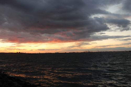 Red Hook Sunset One
