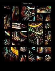 Dancing lights (tanakawho) Tags: light abstract night colorful crossing dancing wave multicolor tabblo