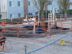 the SE Portland sinkhole