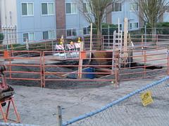 the SE Portland sinkhole