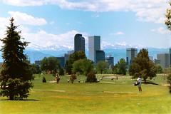 Denver Skyline from City Golf Course