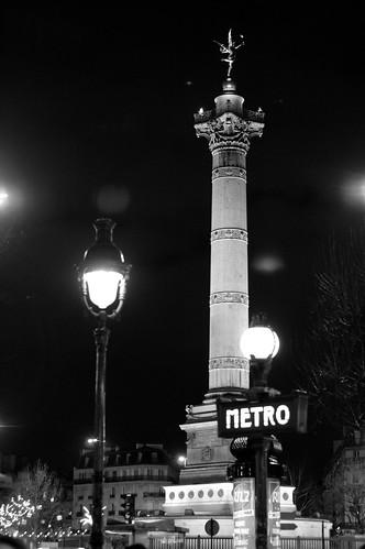 Bastille Black and White