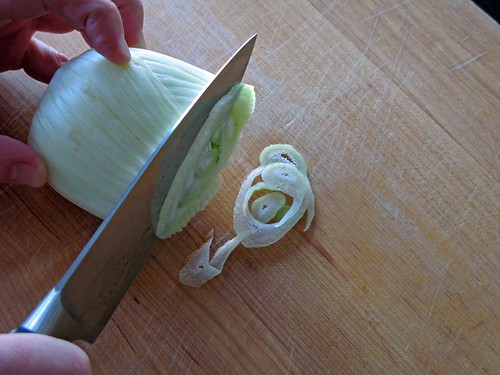 slicing fennel - cookthink