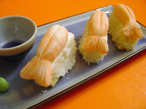 sweet, sweet sushi