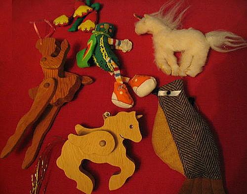 Ahwahnee Ornaments