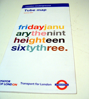 The Day Before - Tube Map