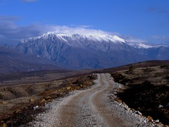 Tropoja Road (kosova cajun) Tags: road winter mountains landscape balkans albania snowcappedpeaks shqipri peisazh shqipria southeasterneurope bajramcurri northernalbania bjeshk tropoja rrug tropoj