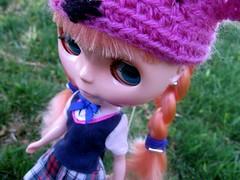 Eden. (svohljott) Tags: doll eden blythe schoolgirl takara sbl postpet mrb mademoisellerosebud liccadress