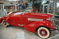 1935 Auburn Boattail Speedster 851 (WrldVoyagr) Tags: auto car museum germany deutschland antiquecar technik auburn moo speedster 851 supercharged roadster 1935 sinsheim boattail auburn851 moocard autotechnikmuseum speedster851