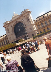 Keleti palyudvar, or the Eastern Train Station