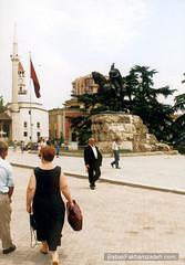 On the streets of Tirana