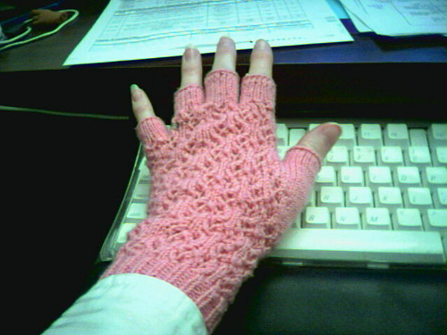 Lace office gloves