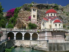 Church built into a cave in Kefalari, Greece (Tom 4) Tags: church greece kefalari