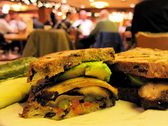 Berghoff Cafe rocks Portobello and Avocado on Olive Bread_2.jpg