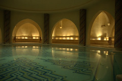 Hammam (drewnoakes) Tags: water pool swimming swim bathroom casa bath january mosque morocco maroc casablanca hammam 2007 hassanii zellij hassaniimosque hassan2