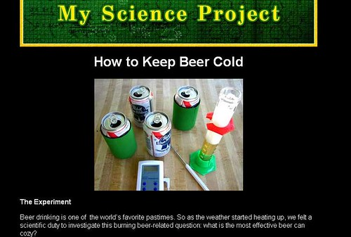 keep beer cold