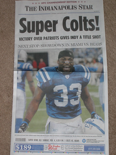 The Aftergame edition of the Indy Star