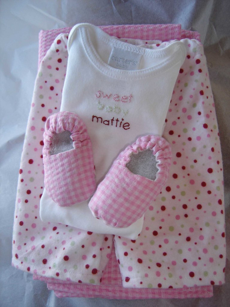 Gifts for baby Mattie