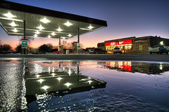Gas Station 1.25.2007 (Notley) Tags: winter sunset sky reflection water colors january gasstation missouri reflexion caseys conveniencestore reflexin 2007 gasolinera bocomo 10thavenue odraz distributoredibenzina postodegasolina notley ruralphotography boonecountymissouri eftertanke notleyhawkins caseysgasstation missouriphotography stationdegaz caseysconveniencestore caseysgas httpwwwnotleyhawkinscom notleyhawkinsphotography boonebounty