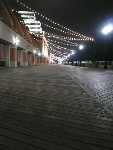 Board Walk at night